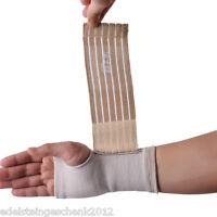 GS 1 Handbandage Handgelenkbandage Handgelenkstütze Handstütze Beige 18x9cm
