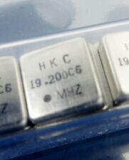 1x HKC Quarz Oszillator Crystal 19.200 MHz VCXO DIL8 5V