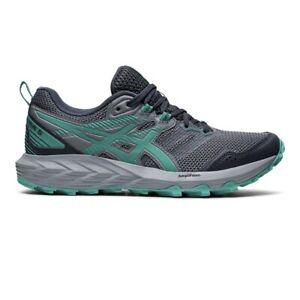 ASICS Gel-Sonoma 6 Trail Running Shoes Carrier Grey / Baltic Jewel UK 6 EU 39.5