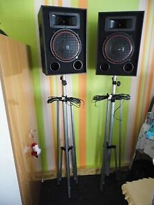 Musikboxen mit Ständer