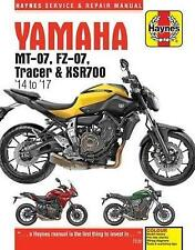 Yamaha MT-07 (Fz-07), Tracer & XSR700 Service and Repair Manual: (2014 -...
