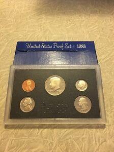 1983 U.S. Mint Proof Set