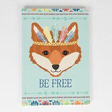 Sass & Belle A5 carta comune NOTEBOOK Nota Libro Avventura Tribale essere libero FOX