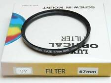 Luxon 67mm UV / Haze Clear Protection Camera Lens Filter