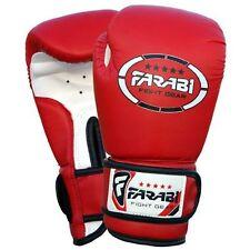 Farabi Kids Boxing Junior Sparring Punching Gloves Black 4oz Childrens Sport
