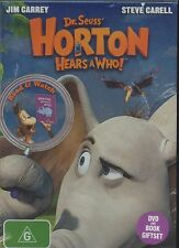 Dr. Seuss' Horton Hears A Who! DVD box set Region 4 Jim Carey Steve Carell