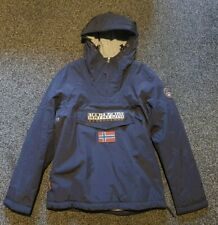 Napapijri Rainforest Winter Jacket In Navi Size Medium
