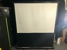 More details for optoma projector screen 152cm wide x 193cm tall in great condition