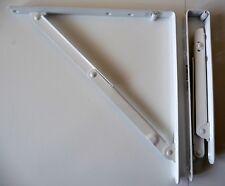 Lot de 2 supports étagère blanc pliante  30 x 30 CM NEUF