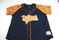 WOMENS MLB Genuine Merchandise Campus Stitch Detroit baseball Jersey Shirt L P