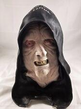 Ian McDiarmid Signed EMPEROR MASK JSA COA 717 ROTJ Star Wars Empire Palpatine