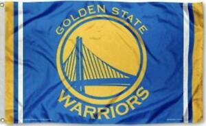 Warriors FLAG 3X5 Golden State Banner American Basketball Fast USA Shipping New