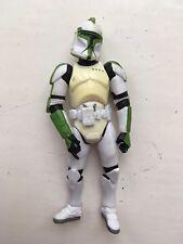 Star Wars Clone Trooper Kenner Verde serie 2003 Figura De Acción Hasbro