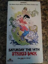 Saturday the 14th Strikes Back - (VHS, 1989)