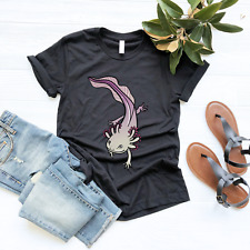 Premium Axolotl Mexican Salamander Owner T Shirt Gift Amphibian Lover