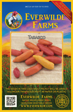 25 Tabasco Hot Pepper Seeds - Everwilde Farms Mylar Seed Packet