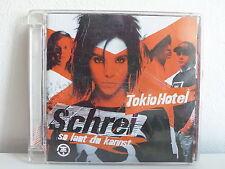 CD ALBUM TOKIO HOTEL Schrei so laut ... 0 06025 1706569 7