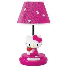 Hello Kitty Pink Kids S Bedroom Desk Dresser Nightstand Table Lamp
