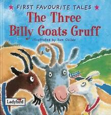 First Favourite Tales: Three Billy Goats Gruff, Ladybird | Hardcover Book | Good