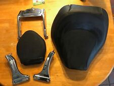 USED - Hard to find - OEM Harley Rocker C Seat w/Hidden (Trick) Passenger seat