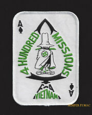 ACE OF SPADES PATCH F-4 PHANTOM 400MISSIONS PIN UP US MARINES NAVY AIR FORCE