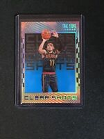 2019-20 Panini Illusions Basketball - Trae Young Sapphire Blue Clear Shots #5