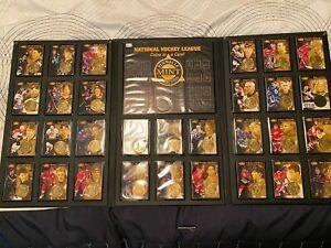 1997-98  PINNACLE MINT  COIN AND CARD SET