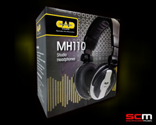 CAD MH110 Studio Recording Monitoring Stereo Headphones Great Sound - Top Value!