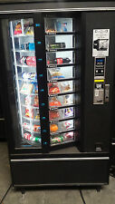 Cold Food Vending Machine Refrigerated X 2 Crane National Shoppertron 430