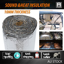 10mm Car Hood Heat Sound Deadener Proof Foam Material Thermal Insulation 1M x 4M