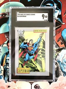 Superman 1992 Impel DC Cosmic Cards. SGC 9 #7568208