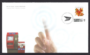 Canada Post  Self Service Kiosk Cover     Brand New 2012 Unaddressed Issue