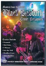 Black Sabbath - Cross Purposes Live - DVD - Mint