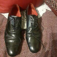 RAUTUREAU  JEAN BAPTISTE  belle chaussure à lacet de cuir noir Pointure 43