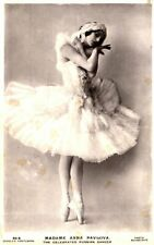 *Great Russian Ballerina Anna Pavlova 1881-1931 Ballet Russe Rare 1920 Photo*