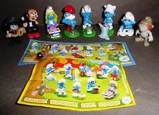 8 Sorpresinem Minifigure PUFFI Kinder Smurfs Pitufos Schtroumpfs Schlümpfe