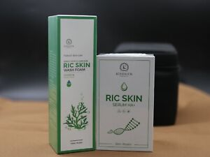Combo Ric Skin Wash Foam & Ric Skin Serum HA+ Helps Nourish of Skin,Moisture Bal
