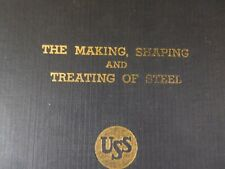 Making, Shaping and Treating of Steel, The United States Steel USS 5th ed 1940
