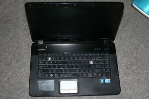 Dell Vostro 1015 Laptop NO HARD DRIVE! missing parts turns on makes noise
