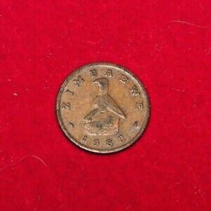 1 Cent Zimbabwe Coin, 1988