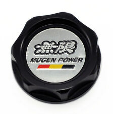 Black Mugen Car Engine Oil Fuel Filler Filter Tank Cap Cover Plug For Honda
