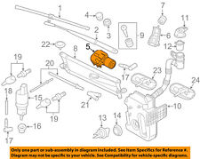 VW VOLKSWAGEN OEM 11-15 Jetta-Windshield Wiper Motor 5C7955113D