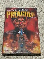 PREACHER BOOK ONE Huge Collected Volume Hardcover TPB w/ Dust Jacket NEW SEALED!