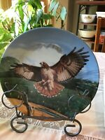 """The Red Tailed Hawk "". Knowles Collectors Plate"