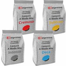 200 Capsule cialde caffè Lavazza A Modo Mio compatibili espresso SCEGLI IL MIX