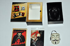 V FOR VENDETTA DELUXE DELETED COLLECTOR 2x DVD AND MASK BOX SET NM/NM/VG+