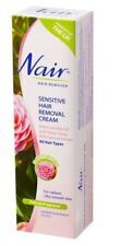 NAIR Sensitive Hair Removal Cream 100ml-For radiant, silky-smooth skin