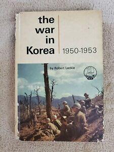 "VINTAGE - ""THE WAR IN KOREA / 1950 - 1953"" HARDCOVER BOOK  1963"