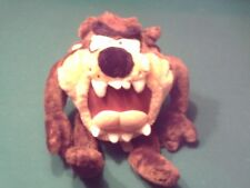 "LOONEY TOONS 12"" TAZMANIAN DEVIL ACE STUFFED PLUSH TOY"