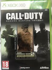 Call Of Duty Modern Warfare Trilogy (Xbox 360) Rare!